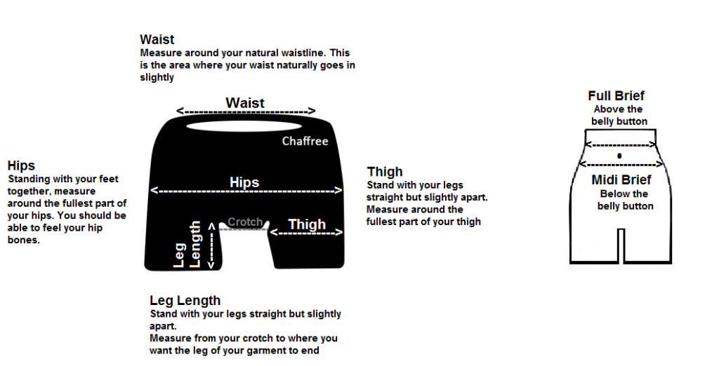 knickerboxers measuring guide