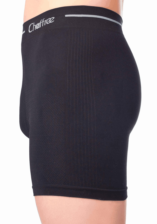 mens boxer shorts black long and short leg