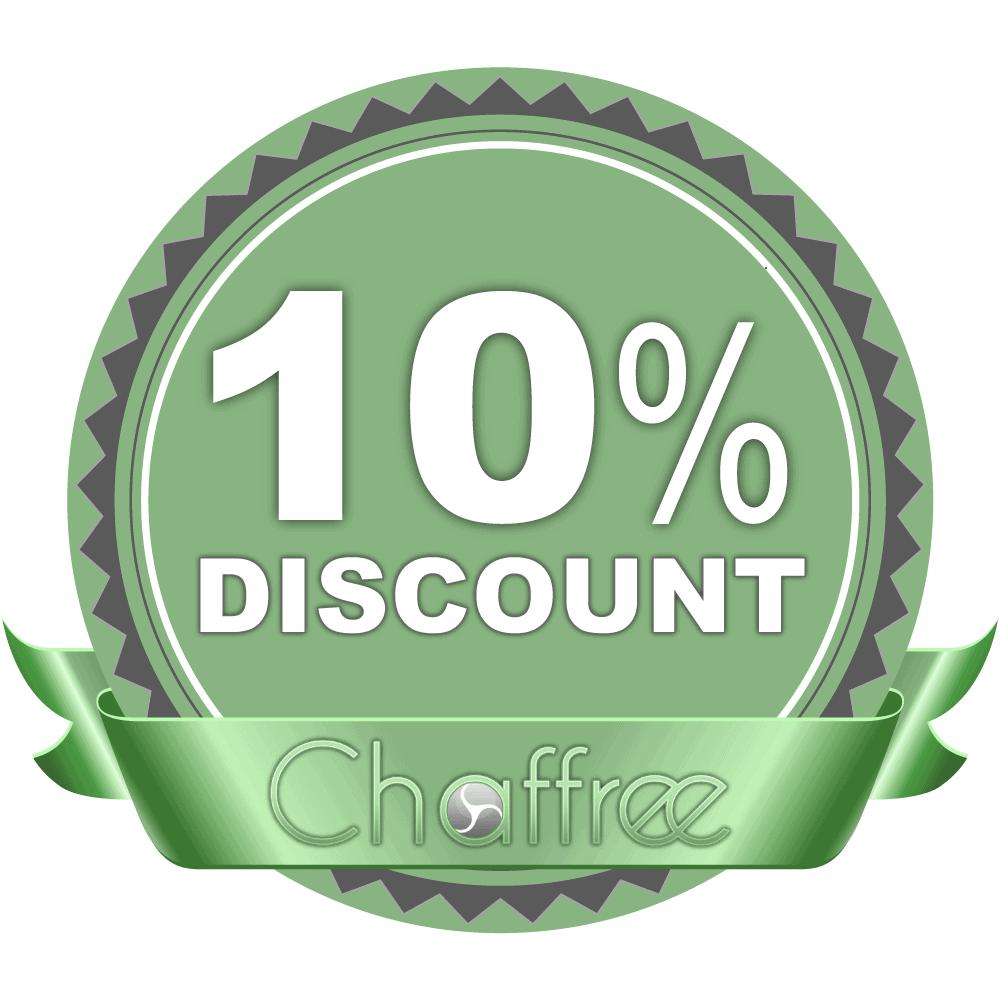 valid chaffree discount code