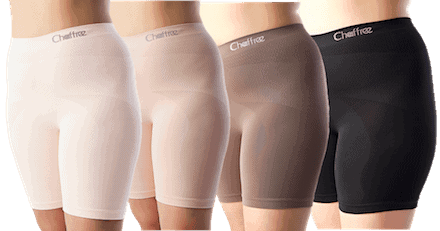 womens long leg knickers to avoid inner thigh chafing