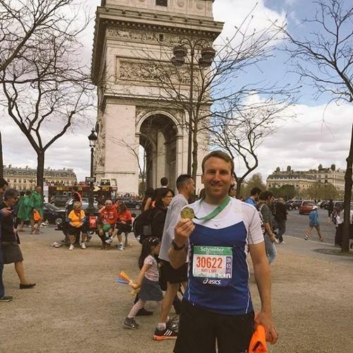 Matt Jones marathon running reviewing Chaffree