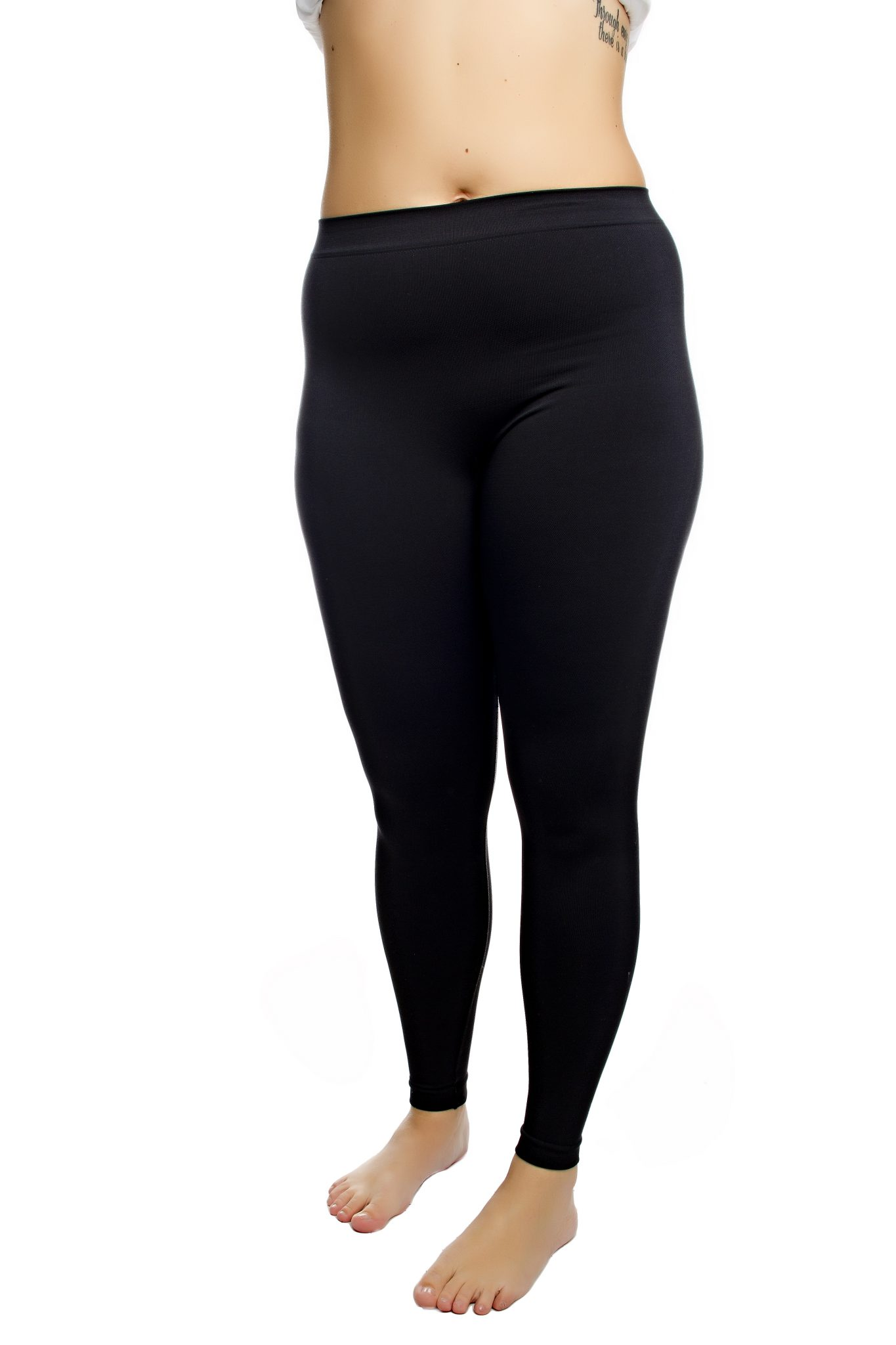 chaffree coolmax black leggings plus size up to a size 24