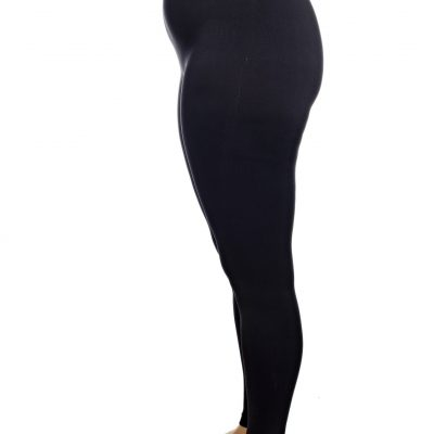 chaffree black leggings plus size up to a size 24