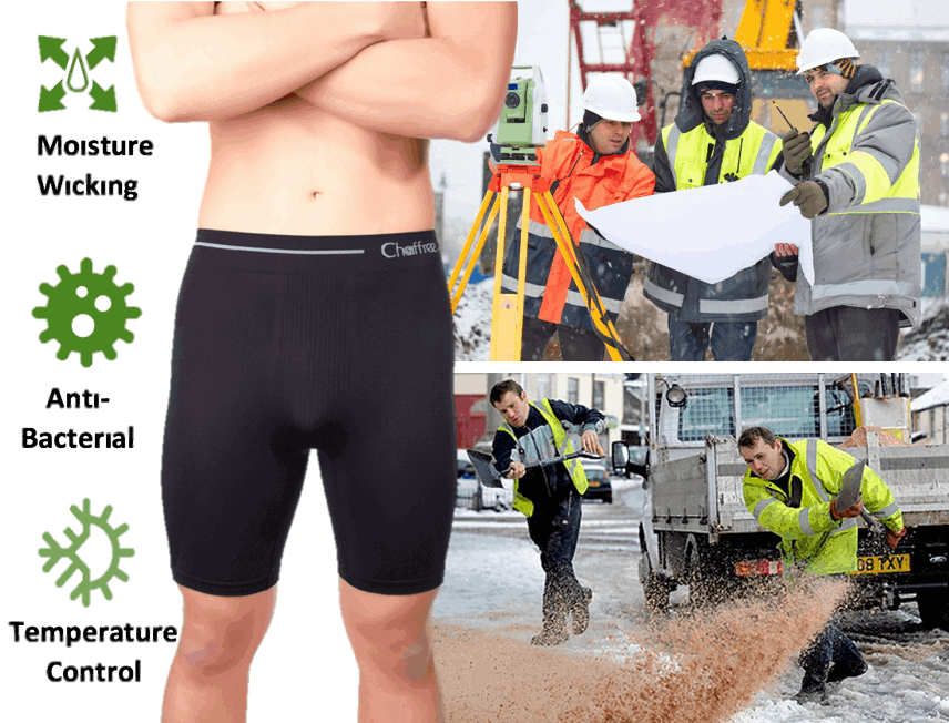 Underwear to help you deal with chafing, changes in temperature and sweating