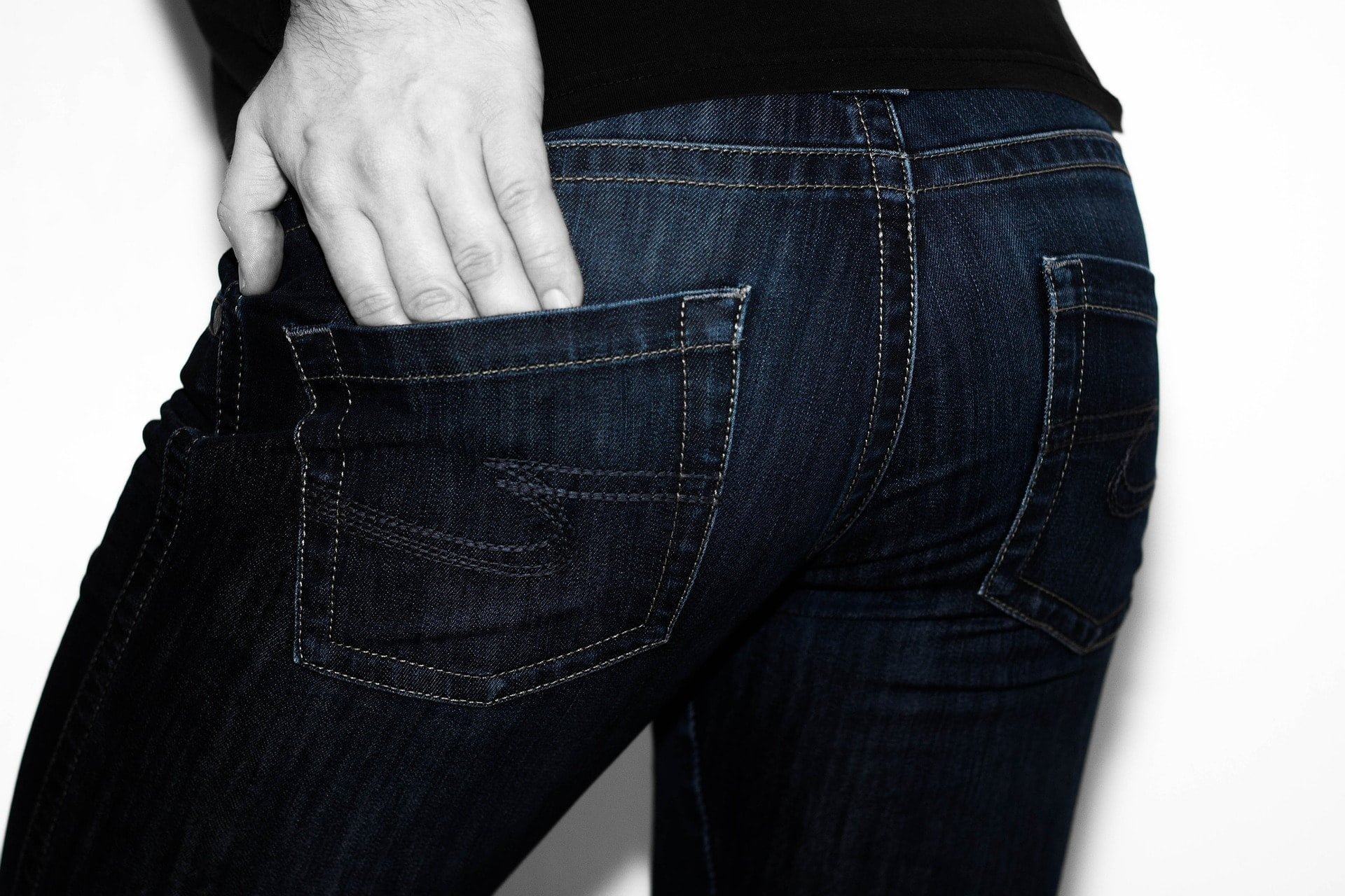 Wearing tight jeans may cause long term skin problems