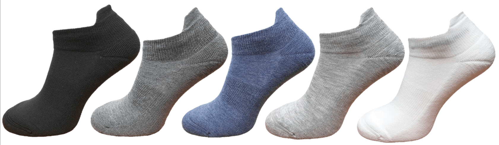 ankle socks with ankle support and protection mixed colours