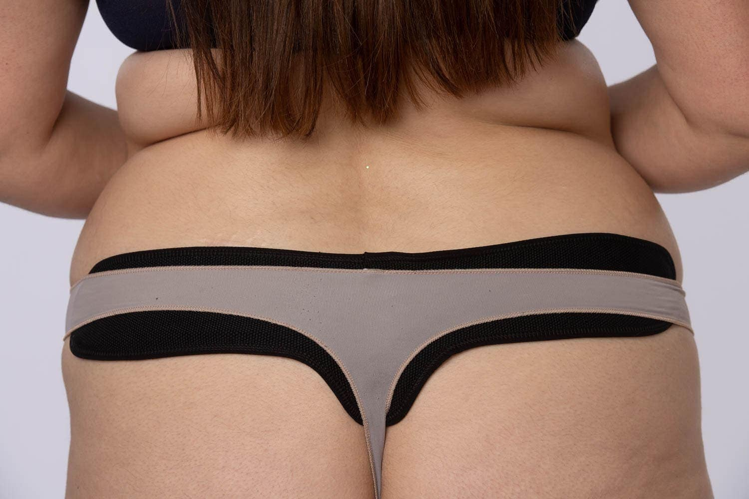 black sweat liner stops sweats and gives relief from chafing any bra style or cup size