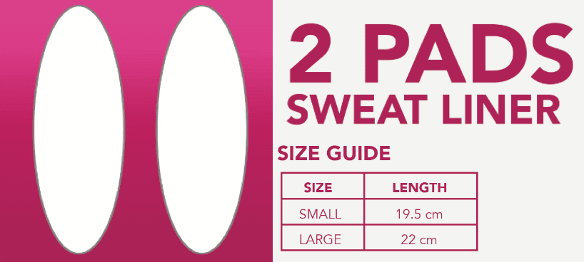 Chaffree Sweat Liner PADS (2 Pack)