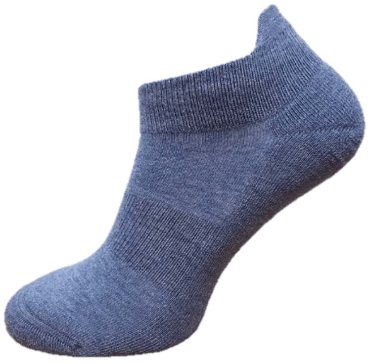 ankle socks coolmax cushioned sole and protective ankle lip