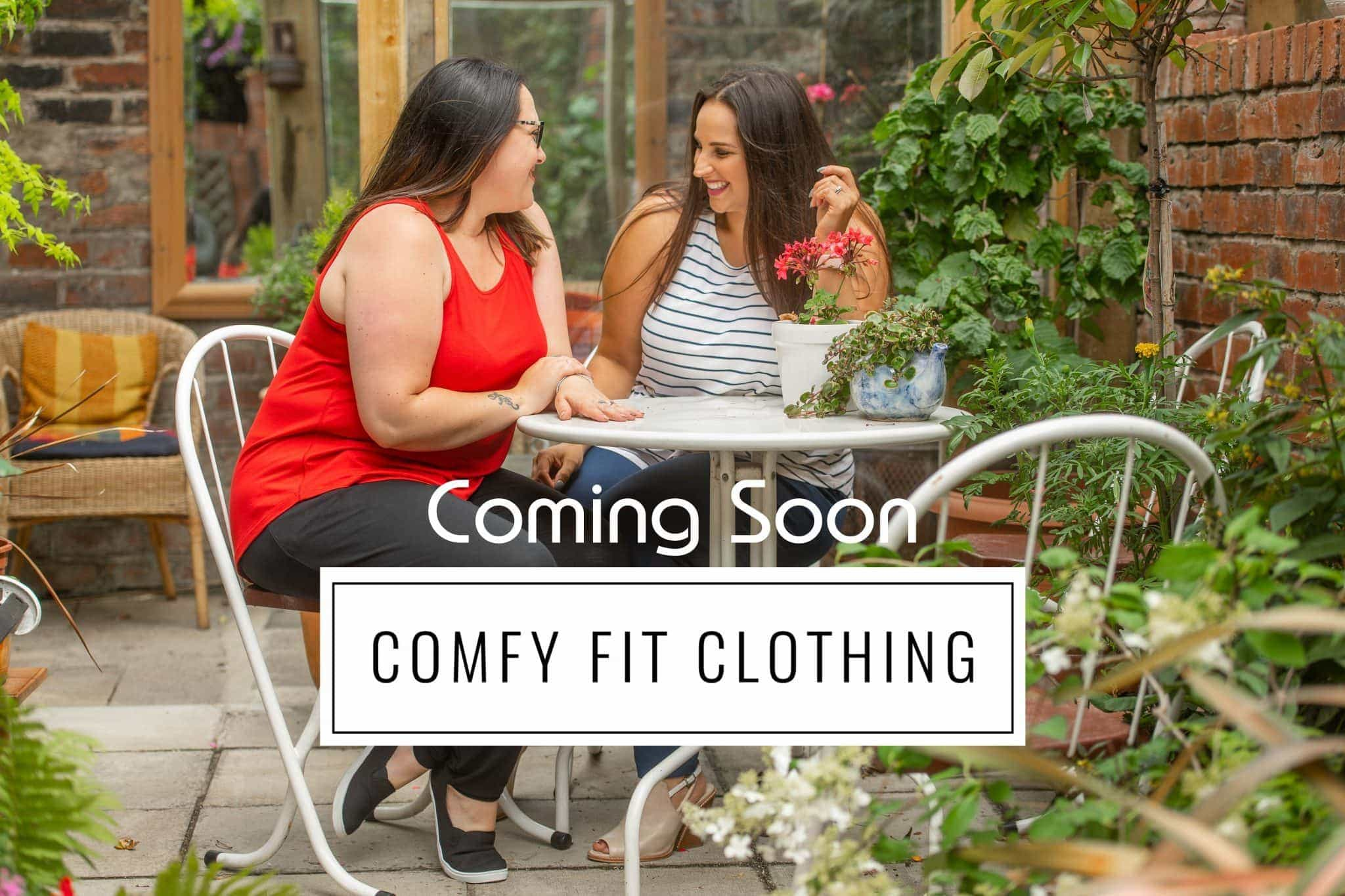 Comfy fit plus size clothing for women