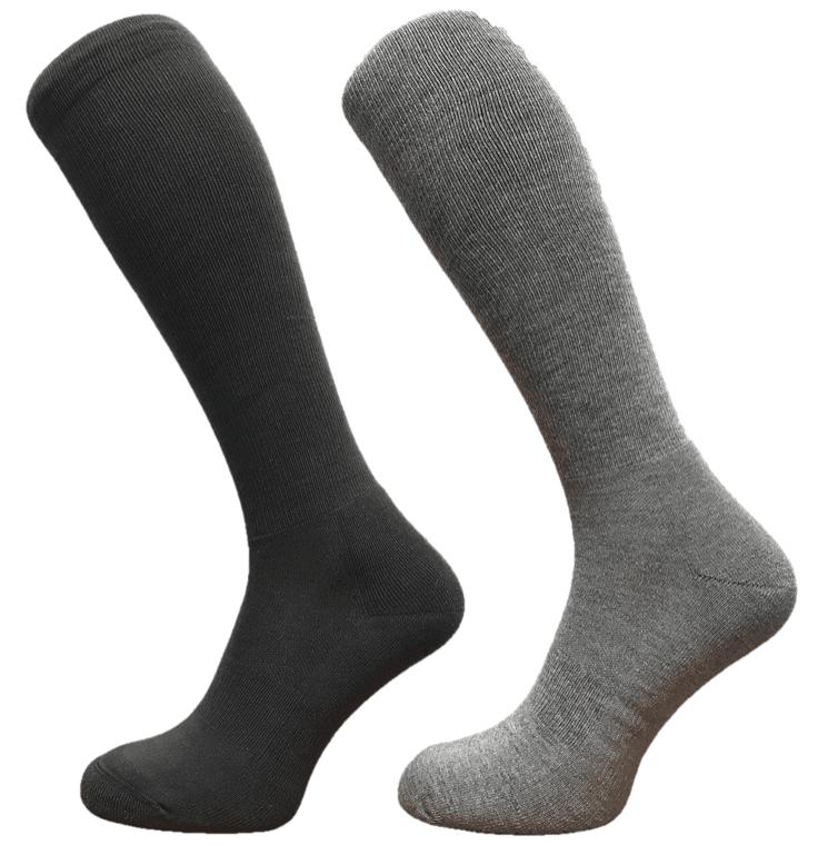 black and grey knee high long socks coolmax